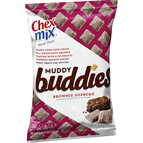 Chex Mix, Muddy Buddies, Brownie Supreme, 10.5 oz. Bag