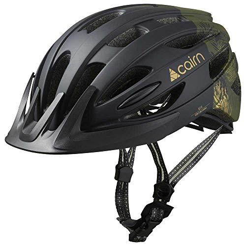 CAIRN Fusion Fahrradhelm Schwarz und Gold