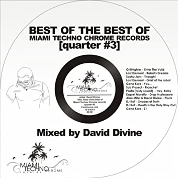Best of The Best Quarter #3 (Mixed by David Divine)