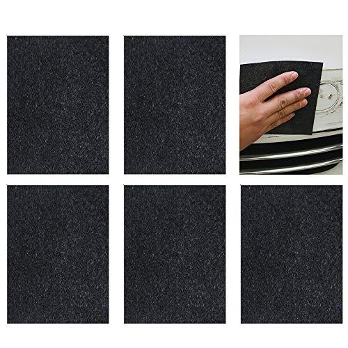 Gobesty Nano Magic Autokratzerentferner, 5 Stück Entferner Tuch für Auto leichte Kratzer Repair, Kfz-Lack-Reparatur für Kratzer und Wasserflecken