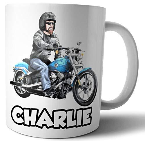 Personalisierbare Tasse – Harley Motorrad Biker – Geschenk – Geburtstag – Weihnachten – Strumpffüller – Wichteln