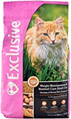 Nutrition for normally active adult cats Cat food that helps maintain a healthy weight with a light 32:9 protein to fat ratio formula Cat food formulated without corn, wheat, soy, artificial colors and artificial preservatives Support brain and visio...