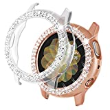 NewWays Compatible with Galaxy Watch Active2 Case, Bling Cases...