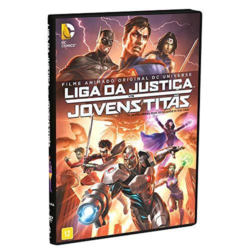 Liga Da Justiça Vs. Jovens Titãs - Filme Animado Dc Universe