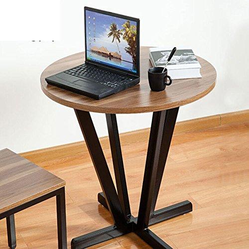 EWYGFRFVQAS massief houten thee tafel moderne minimalistische woonkamer Edge restaurant rond hotel telefoon tafel pagina computertafel ijzeren tafel