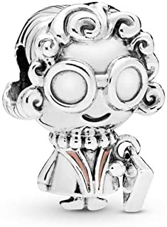 Mrs. Wise 925 Sterling Silver Charm - 798014EN190