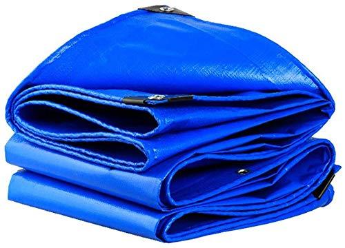 NO BRAND Azul Impermeable Lona Coche Cubierta de Lluvia para Techo de...