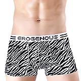 Feidaeu Shorts für Männer Unterwäsche elastische elastische Taille kühle ultradünne Ice Silk weiche antibakterielle hautfreundliche Tageshosen