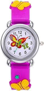 Orologio Bambino XYBB Quadrante a farfalla grande Orologi per bambini Orologio elettronico per bambini con luce flash colo...