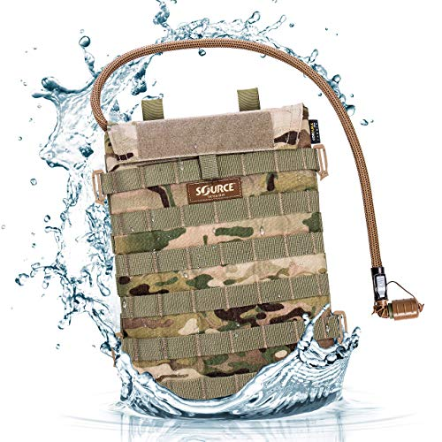 Source Razor Advance Mobility 3-Liter Hydration Pack Poche d'hydratation. Mixte, Multicam, 3 L / 100 oz