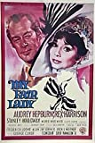Poster Audrey Hepburn - My Fair Lady Italian - Maße: 100 x