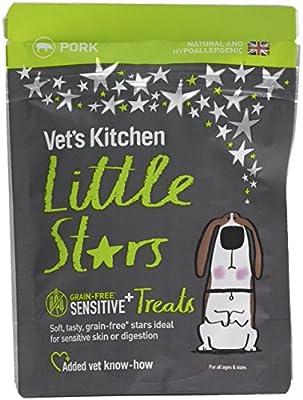 Vet's Kitchen - Grain Free - Sensitive Dog Treats - Little Stars Pork - For All Breeds and Ages - 80g