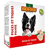 Biofood Friandise Anti-Puces à la Panse pour Chien/Chat 55 Pièces