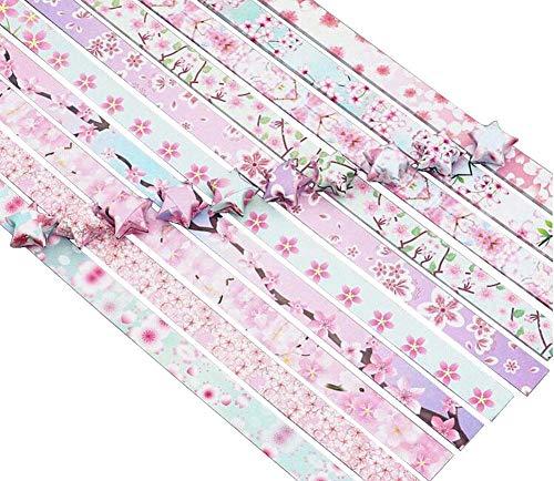 24station 1030 Blatt Bunte Origami Star Papers DIY Lucky Star Papierstreifen #18