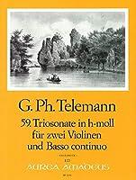 TELEMANN - Trio Sonata en Si menor (TWV:42/h 7) para 2 Violines y Piano (Pauler/Hess)