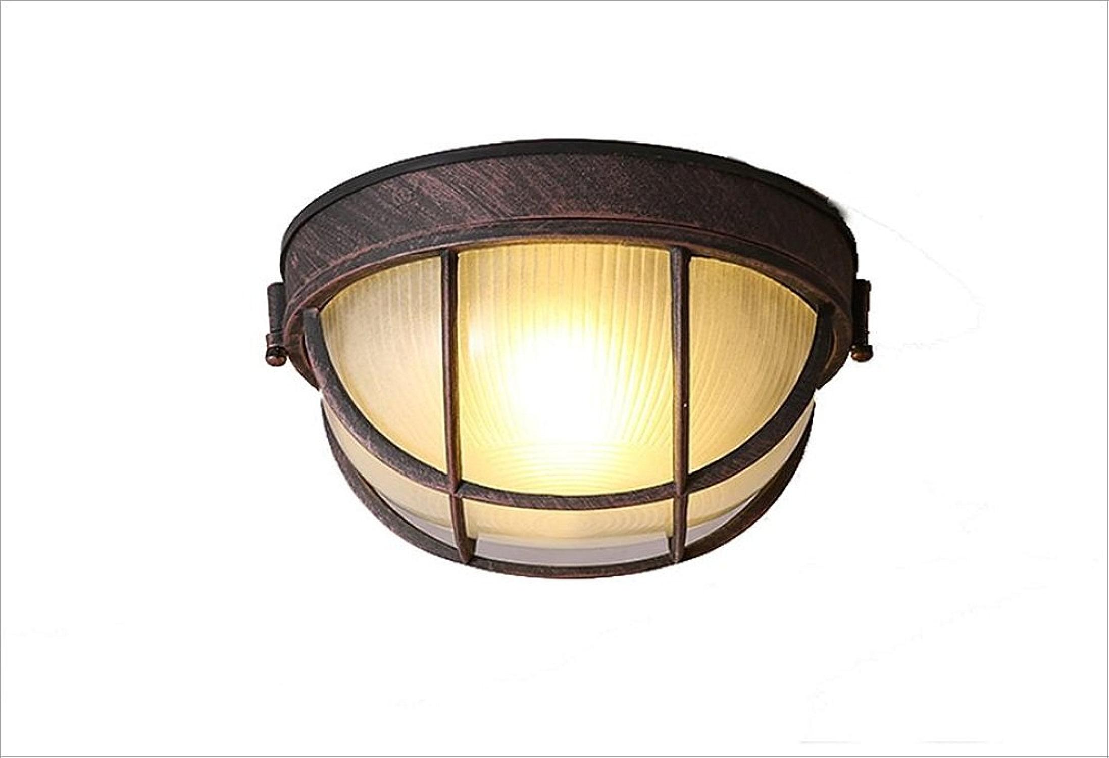 Rétro Plafonniers Ronde LED Plafond éclairage Cuisine Couloir Corridor Balcon Lampes 5W