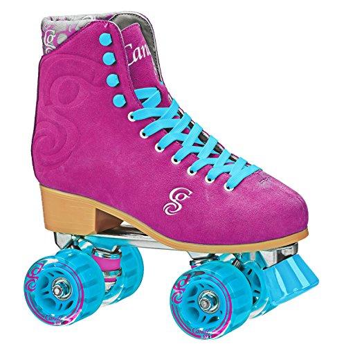 Roller Derby U774RB Candi Grl Wo para Mujer Roller Skate, tamaño 8, color Frambuesa