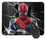 Tapis de souris rectangulaire antidérapant pour ordinateur portable Motif Spiderman