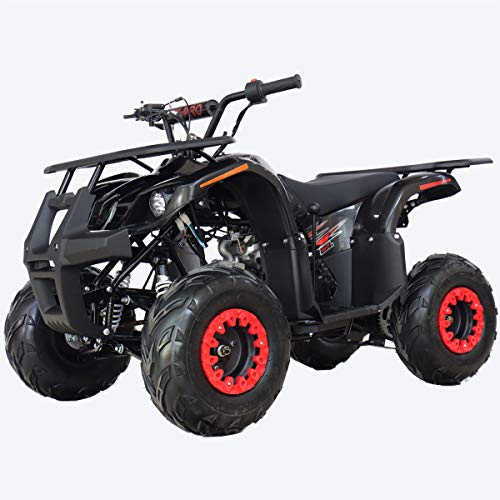 X-PRO Eagle 125 ATV Quad Youth 4 Wheeler ATVs Kid Size ATV 4 Wheelers 125cc Big Boys ATVs Quads (Black)