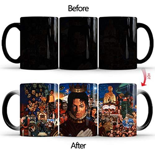 YXYLQ 1Pcs New 350Ml Creative Michael Jackson Becher Keramik Farbwechsel Kaffeetasse Magic Tea Cup Tassen Beste Geburtstagsgeschenke Für Freunde-China_Michael_Jackson_Mug_Gift_Box
