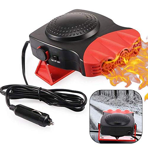 Learn More About Car Heater, Portable Auto Electronic Heater Fan Fast Heating Defrost 12V 150W Car D...