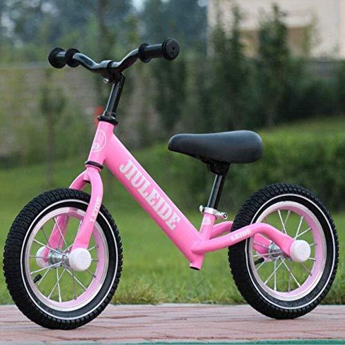 Bicicleta de Equilibrio For el equilibrio de bicicletas 2 3 4 5 6 años, Caminar Niño Niña primera bicicleta Bike Training for niños y los niños sin pedal de asiento ajustable Marco Ultra Light