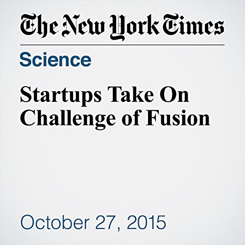 Startups Take On Challenge of Fusion cover art