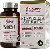 Boswellia serrata capsule (Franchincenso) 5:1 (equivalente a 2000 mg) integratore articolazioni |...
