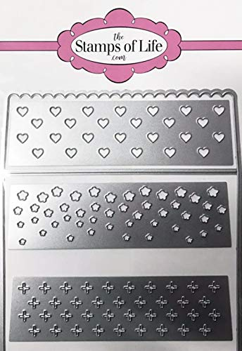 Scalloped Envelope Liner for Card-Making and Scrapbooking Supplies by The Stamps of Life - Create DIY A2 Sized Envelope