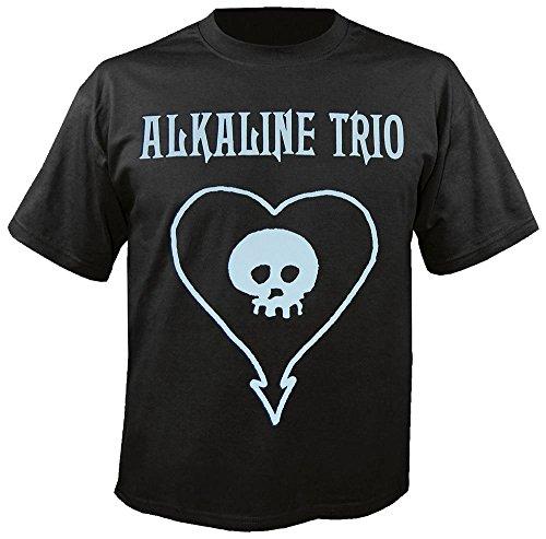 ALKALINE TRIO - Classic Heartskull - T-Shirt Größe L