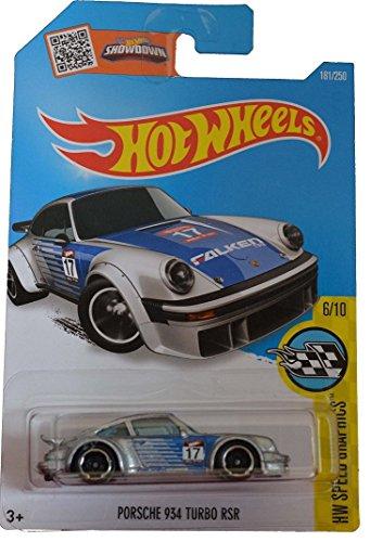 Hot Wheels, 2016 HW Speed Graphics, Porsche 934 RSR [Silver] #181/250
