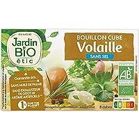 Epicerie salée Diététique Biologique JARDIN BIO Bouillon Cube Volaille Sans Sel Bio 72G