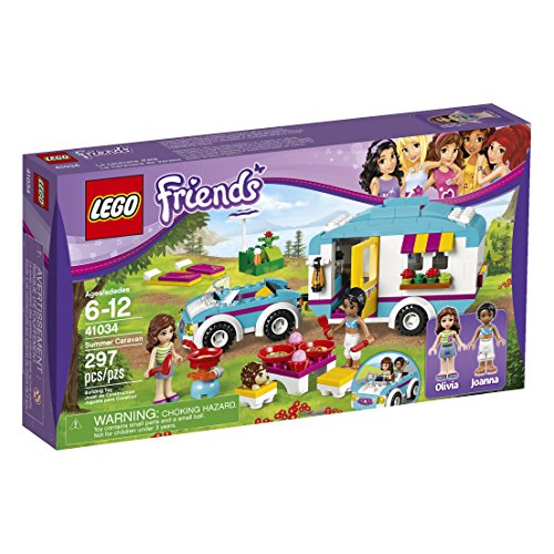 LEGO Friends Summer Caravan 41034 Building Set (Discontinued by manufacturer) by LEGO