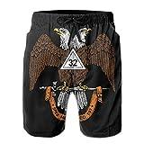 SSANSKKE The Scottish Rite of Freemasonry Men's Quick Dry Swim Trunks Beach Shorts