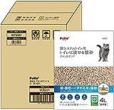 ペティオ 猫システムトイレ用 トイレに流せる猫砂デオンDサンド 4Lx6個 製品画像