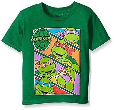 Teenage Mutant Ninja Turtles Baby Boys' Toddler Group Tee Shirt