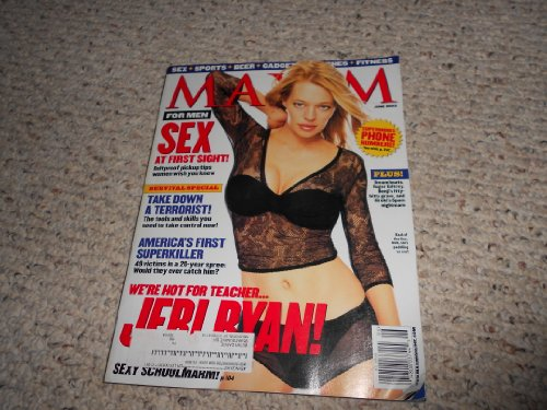 Maxim June 2002 Jeri Ryan