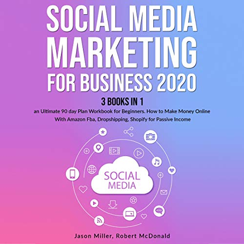 『Social Media Marketing Mastery for Business 2020』のカバーアート