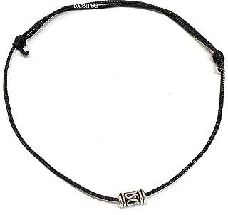 DARSHRAJ JEWELLERS Pure Silver Thread Anklet |payal|Bracelet for Girl|Women |Men |Boys|Baby Boy|Baby Girls -Fully Adjustab...