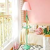 Lámpara De Pie De La Sala De Estar De La Sala De Estar De Los Niños De Estilo Moderno Nórdico, Lámpara De Escritorio De Aprendizaje Alta De Color Rosa, Verde Lámpara De Escritorio De Loft De Oficina l