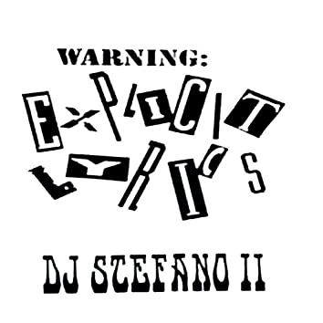 Dj Stefano Explicit Lirics Dos