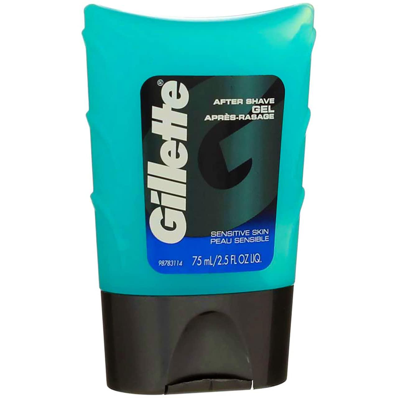 Gillette After Shave Gel Sensitive Skin Pack Save money of Fort Worth Mall - oz 5 2.5