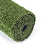 GOLDEN MOON Artificial Grass for Dogs 0.8' 7ft x 13ft Pet Grass Puppy Potty Training Grass Pee Pad...