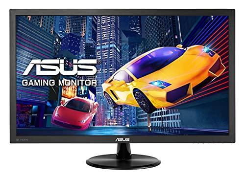 Asus VP278QG 68,6 cm (27 Zoll) Monitor (Full HD, 75Hz, VGA, HDMI, DisplayPort, 1ms Reaktionszeit) schwarz