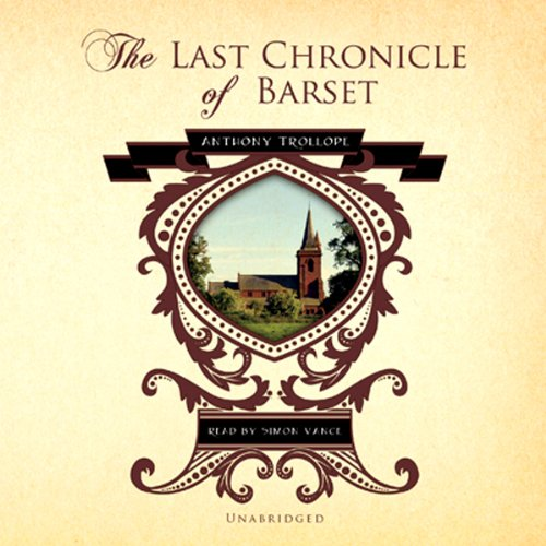 The Last Chronicle of Barset copertina