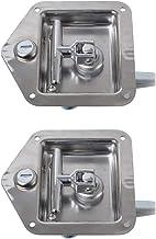 B Baosity 2 Pack RVS enkelpunts T-handvat Latch met montagegaten