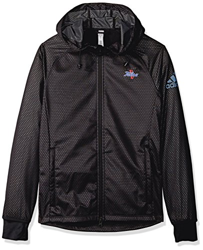 NCAA Grand Valley State Lakers Adult Women Team Logo Climastorm Full Zip Jacket, Small, Black image