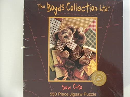 punto de venta The Boyds Collection Collection Collection 550 Piece Jigsaw Puzzle  Sew Cute by Ceaco  calidad auténtica