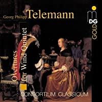 Overtures for Winds by G.P. Telemann