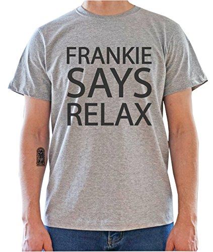 DreamGirl Frankie Says Relax Mens T-Shirt Medium
